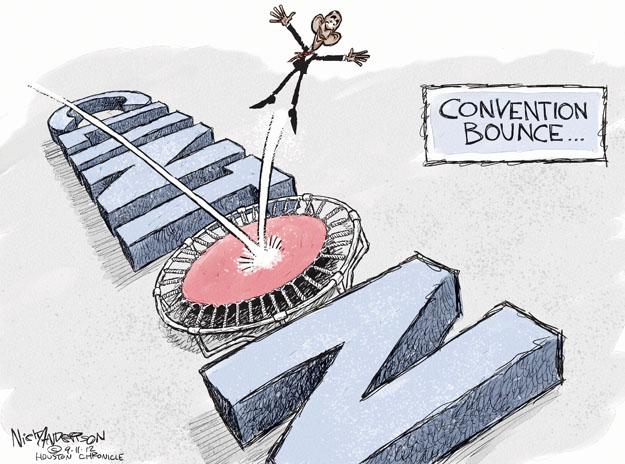 Cartoonist Nick Anderson  Nick Anderson's Editorial Cartoons 2012-09-11 Democratic National Committee