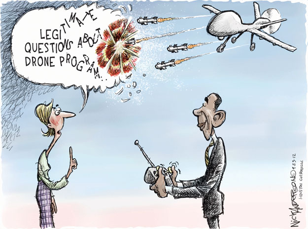 Cartoonist Nick Anderson  Nick Anderson's Editorial Cartoons 2012-09-22 armed