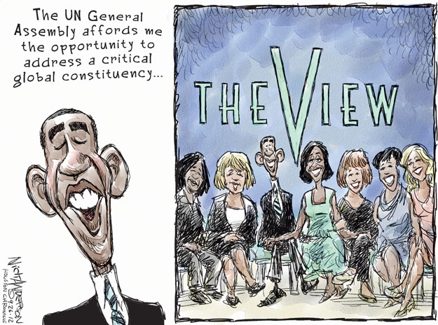 Cartoonist Nick Anderson  Nick Anderson's Editorial Cartoons 2012-09-27 appearance