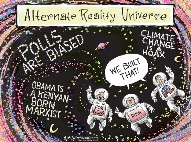 Nick Anderson  Nick Anderson's Editorial Cartoons 2012-10-02 climate change hoax