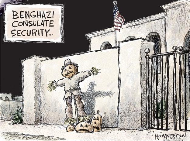 Nick Anderson  Nick Anderson's Editorial Cartoons 2012-10-03 Libya