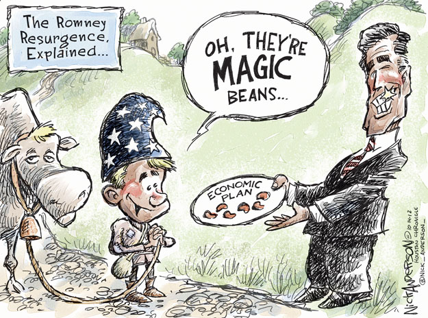 Nick Anderson  Nick Anderson's Editorial Cartoons 2012-10-14 2012 election economy
