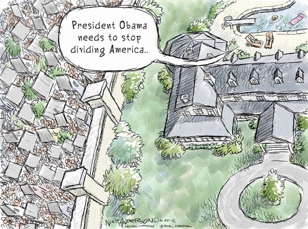 Cartoonist Nick Anderson  Nick Anderson's Editorial Cartoons 2012-10-26 rich