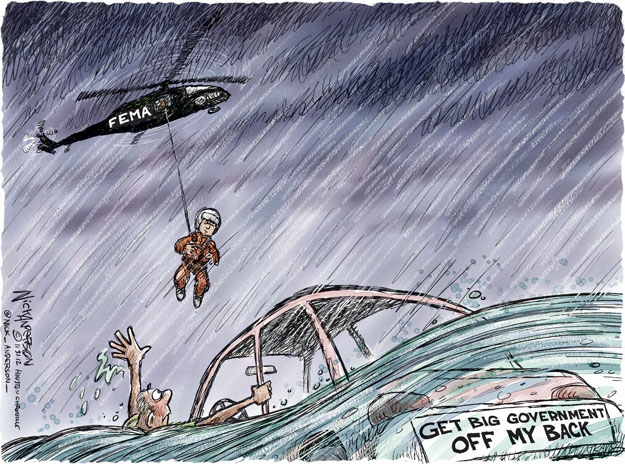 Cartoonist Nick Anderson  Nick Anderson's Editorial Cartoons 2012-10-31 disaster