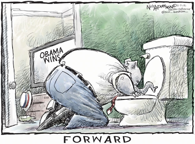 Cartoonist Nick Anderson  Nick Anderson's Editorial Cartoons 2012-11-07 Republican voter