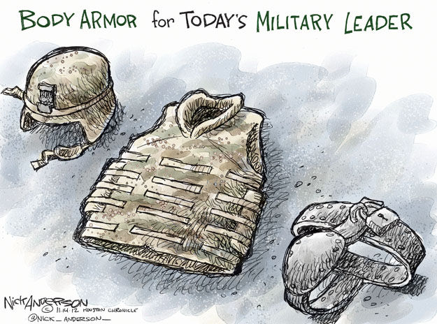 Body Armor for Todays Military Leader.
