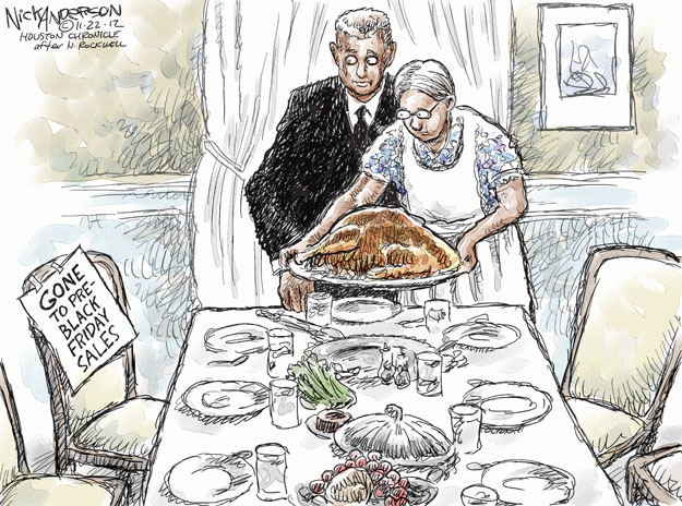Nick Anderson  Nick Anderson's Editorial Cartoons 2012-11-22 tradition