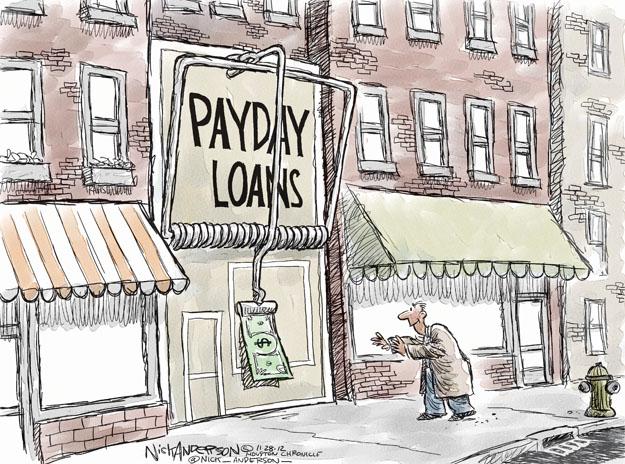 Cartoonist Nick Anderson  Nick Anderson's Editorial Cartoons 2012-11-28 debt