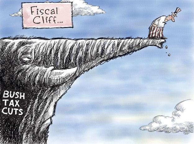 Nick Anderson  Nick Anderson's Editorial Cartoons 2012-12-02 George Bush