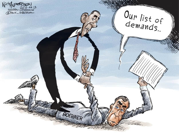 Cartoonist Nick Anderson  Nick Anderson's Editorial Cartoons 2012-12-06 demand