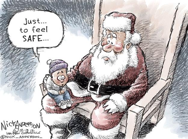 Nick Anderson  Nick Anderson's Editorial Cartoons 2012-12-19 school shooting