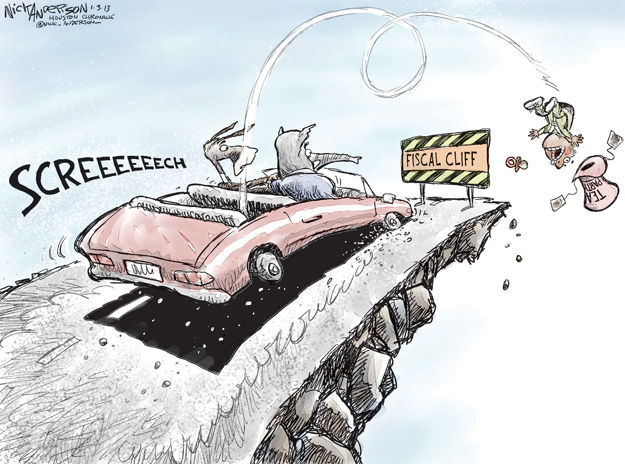 Cartoonist Nick Anderson  Nick Anderson's Editorial Cartoons 2013-01-03 tea party