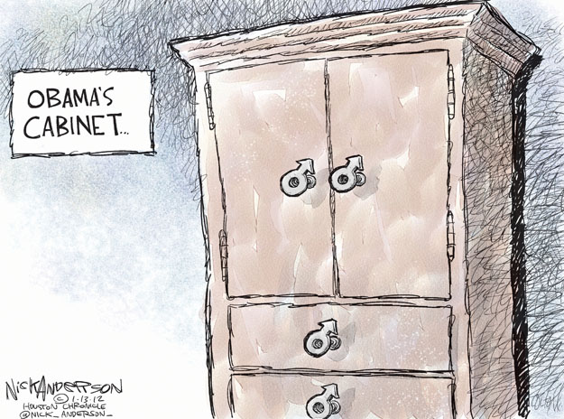 Nick Anderson  Nick Anderson's Editorial Cartoons 2013-01-13 appointment