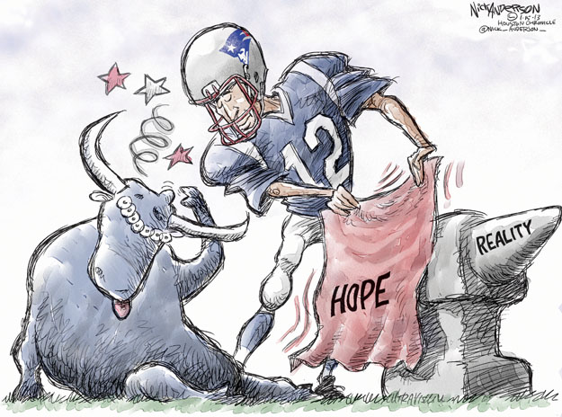Cartoonist Nick Anderson  Nick Anderson's Editorial Cartoons 2013-01-15 reality