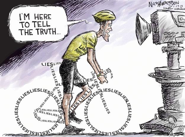 Cartoonist Nick Anderson  Nick Anderson's Editorial Cartoons 2013-01-17 truth