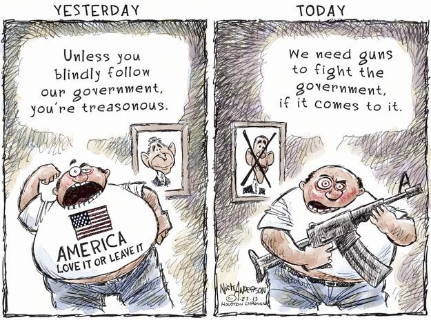 Cartoonist Nick Anderson  Nick Anderson's Editorial Cartoons 2013-01-27 patriotism