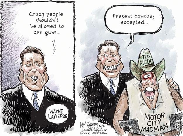 Cartoonist Nick Anderson  Nick Anderson's Editorial Cartoons 2013-02-13 city