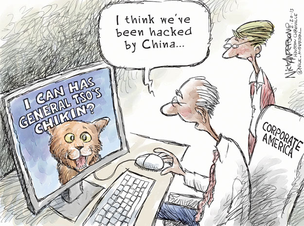 Nick Anderson  Nick Anderson's Editorial Cartoons 2013-02-20 chinese