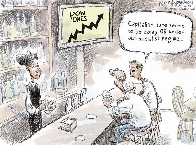 Nick Anderson  Nick Anderson's Editorial Cartoons 2013-03-06 stock market