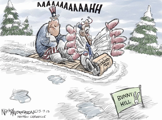Cartoonist Nick Anderson  Nick Anderson's Editorial Cartoons 2013-03-07 hill