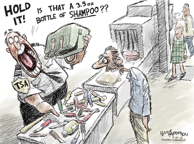 Nick Anderson  Nick Anderson's Editorial Cartoons 2013-03-10 travel