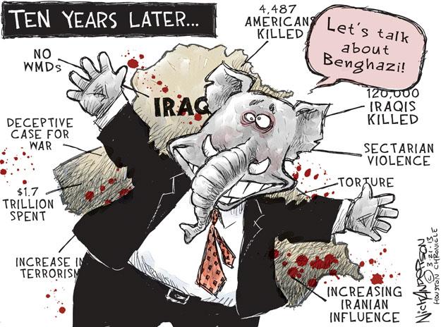 Cartoonist Nick Anderson  Nick Anderson's Editorial Cartoons 2013-03-21 armed