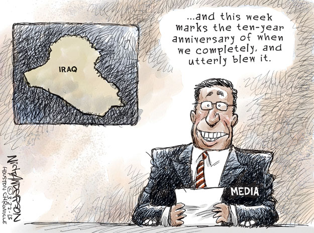 Nick Anderson  Nick Anderson's Editorial Cartoons 2013-03-23 Iraq military
