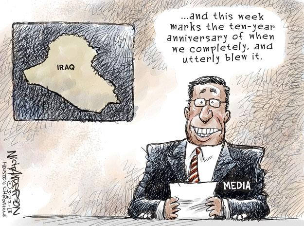 Cartoonist Nick Anderson  Nick Anderson's Editorial Cartoons 2013-03-23 armed