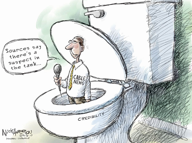 Cartoonist Nick Anderson  Nick Anderson's Editorial Cartoons 2013-04-18 cable news