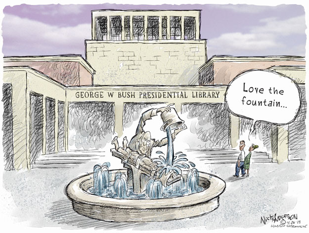 Cartoonist Nick Anderson  Nick Anderson's Editorial Cartoons 2013-04-26 Dick Cheney