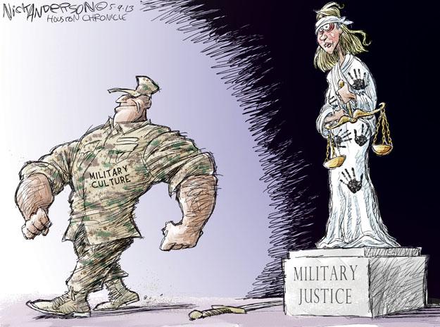 Cartoonist Nick Anderson  Nick Anderson's Editorial Cartoons 2013-05-09 sexual assault