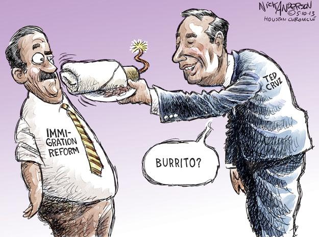 Nick Anderson  Nick Anderson's Editorial Cartoons 2013-05-10 conservative