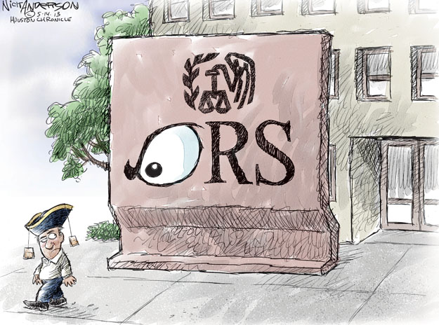 Cartoonist Nick Anderson  Nick Anderson's Editorial Cartoons 2013-05-14 tax review