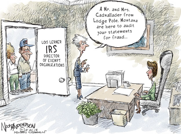 Cartoonist Nick Anderson  Nick Anderson's Editorial Cartoons 2013-05-21 tax review