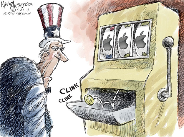 Nick Anderson  Nick Anderson's Editorial Cartoons 2013-05-23 device