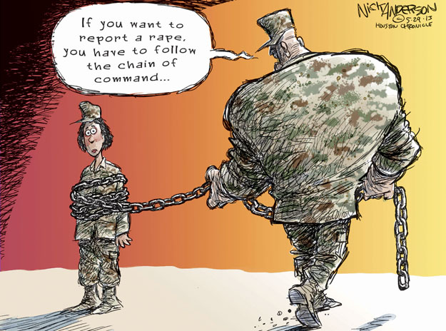 Cartoonist Nick Anderson  Nick Anderson's Editorial Cartoons 2013-05-29 assault