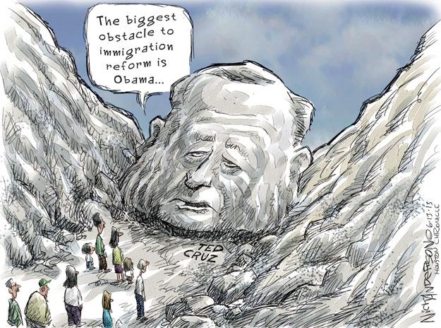 Nick Anderson  Nick Anderson's Editorial Cartoons 2013-06-13 republican president