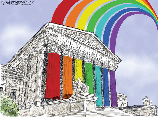 Nick Anderson  Nick Anderson's Editorial Cartoons 2013-06-27 court
