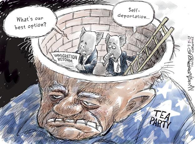 Nick Anderson  Nick Anderson's Editorial Cartoons 2013-07-03 immigration bill