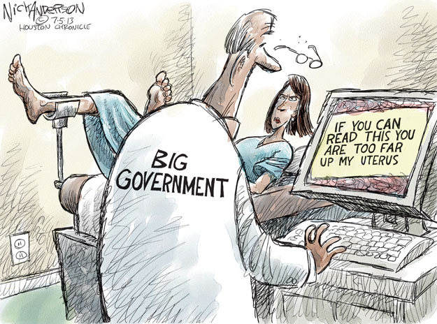 Cartoonist Nick Anderson  Nick Anderson's Editorial Cartoons 2013-07-05 woman