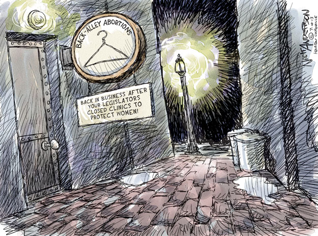 Cartoonist Nick Anderson  Nick Anderson's Editorial Cartoons 2013-07-10 woman