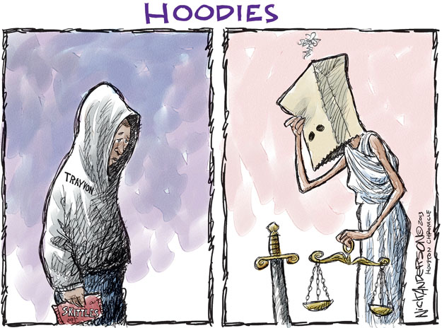 Cartoonist Nick Anderson  Nick Anderson's Editorial Cartoons 2013-07-15 murder