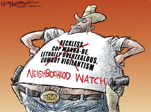 Cartoonist Nick Anderson  Nick Anderson's Editorial Cartoons 2013-07-16 neighborhood