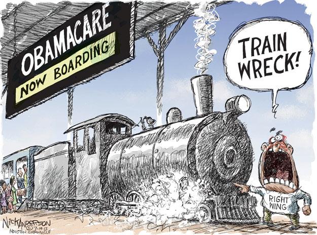 Nick Anderson  Nick Anderson's Editorial Cartoons 2013-07-19 train