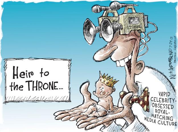 Cartoonist Nick Anderson  Nick Anderson's Editorial Cartoons 2013-07-24 birth