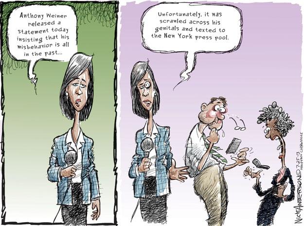 Cartoonist Nick Anderson  Nick Anderson's Editorial Cartoons 2013-07-25 journalist