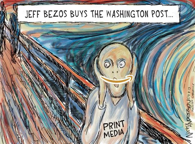 Cartoonist Nick Anderson  Nick Anderson's Editorial Cartoons 2013-08-08 retailer
