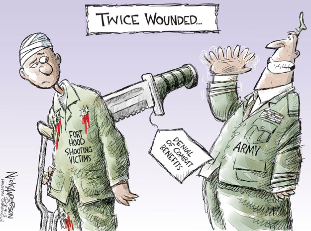 Cartoonist Nick Anderson  Nick Anderson's Editorial Cartoons 2013-08-09 murder