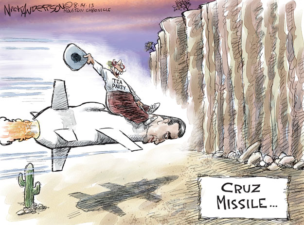 Nick Anderson  Nick Anderson's Editorial Cartoons 2013-08-14 republican party