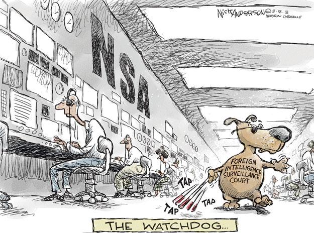 Cartoonist Nick Anderson  Nick Anderson's Editorial Cartoons 2013-08-18 government program